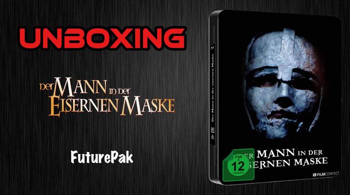 Der Mann in der Eisernen Maske FuturePak Unboxing