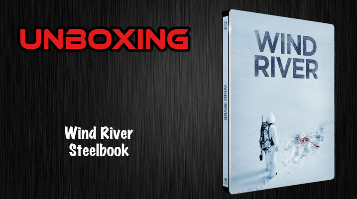 Wind River Steelbook Unboxing