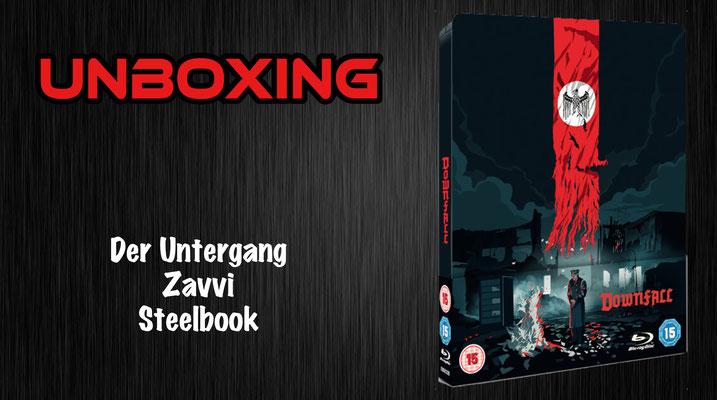 Der Untergang Zavvi Steelbook Unboxing