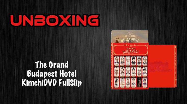 Grand Budapest Hotel KimchiDVD FullSlip