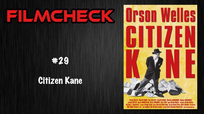 Citizen Kane Filmcheck #29