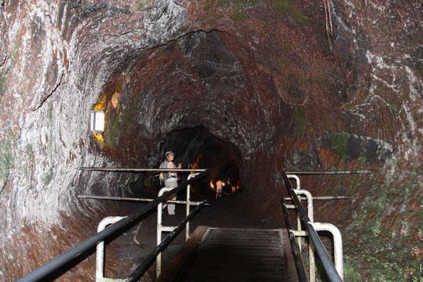 Kilauea Volcano National State Park - Lava Tube