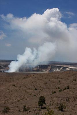Kilauea Volcano National State Park - Halemaumau