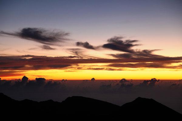Heleakala - Sunrise