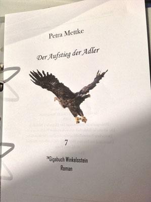 Petra Mettke/Gigabuch Winkelsstein 07/Der Aufstieg der Adler/Druckskript 2012/Titelblatt