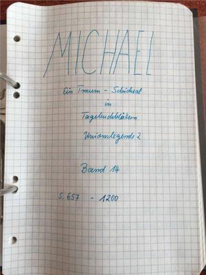 Petra Mettke/Gigabuch Michael 14/Originalordner/1996/ Deckblatt
