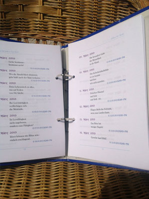 Karin Mettke-Schröder, Petra Mettke/Editor der Seele/Spruchbandskript 5/2010/Seite 12-13