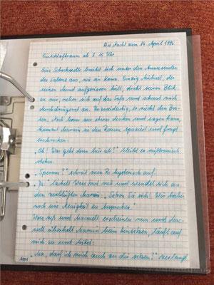 Petra Mettke/Gigabuch Michael 14/Originalordner/1996/ Seite 1101