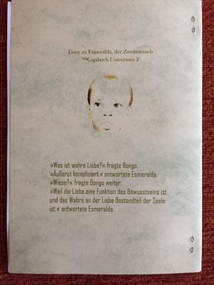 Karin Mettke-Schröder/Dialog über die wahre Liebe/™Gigabuch Universum Band 2/Coverrückseite