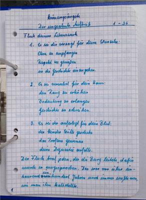 Petra Mettke/Gigabuch Winkelsstein 13/Original 2014/Seite 1