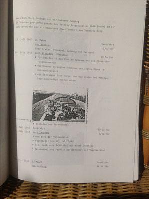 Karin Mettke-Schröder, Petra Mettke/Druckskript von 1987/Paul Krause/Kriegstagebuch/Eintrag 12.07.1943