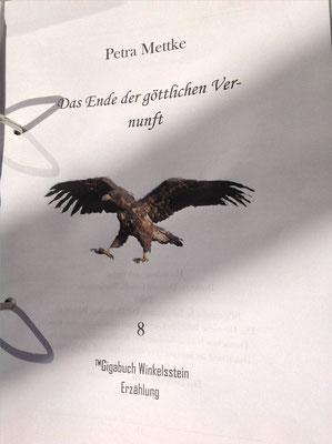 Petra Mettke/Gigabuch Winkelsstein 08/Das Ende der göttlichen Vernunft/Druckskript 2012/Titelblatt