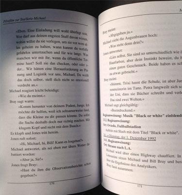 Petra Mettke, Karin Mettke-Schröder/MJJ/Drehbuch zum Gigabuch Michael/2000/Seite 170-171