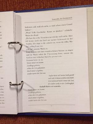 Karin Mettke-Schröder/™Gigabuch Universum Band 2/Du hast doch eine Seele, Esmeralda/Novelle/Seite 47