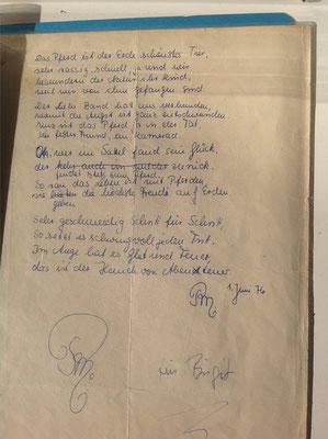 Petra Mettke/Entwurf vom 01.06.1976