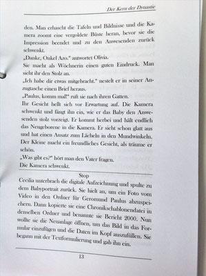 Petra Mettke/Gigabuch Winkelsstein 03/Der Kern der Dynastie/Druckskript 2011/Seite 13