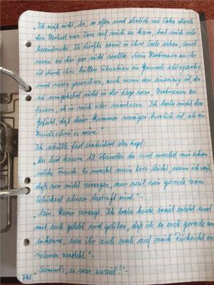 Petra Mettke/Gigabuch Michael 14/Originalordner/1996/ Seite 745