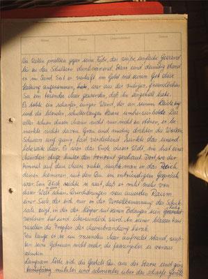 Petra Mettke/Original von 1980, Thema: Quetzalcoatle, Seite 1