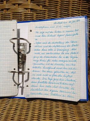 Petra Mettke/Gigabuch Michael 06/Originalordner/1994/Notat 277 auf Seite 575