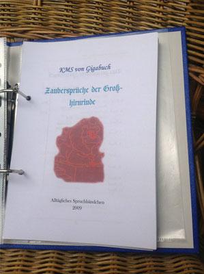Karin Mettke-Schröder, Petra Mettke/Zaubersprüche der Großhirnrinde/Spruchbandskript 4/2009/Deckblatt