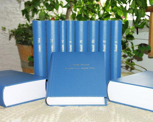 Petra Mettke und Karin Mettke-Schröder/™Gigabuch Michael/Schmuckedition/2001/3 Zyklus/8 Bände