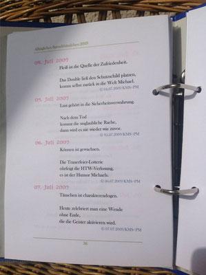 Karin Mettke-Schröder, Petra Mettke/Zaubersprüche der Großhirnrinde/Spruchbandskript 4/2009/Seite 36
