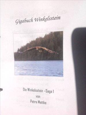 Petra Mettke/Gigabuch Winkelsstein 01/Die Dialektik der Erbfolge/Druckskript 2010/Deckblatt