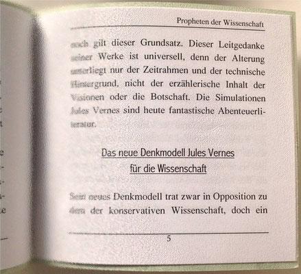 Karin Mettke-Schröder/Propheten der Wissenschaft/Thesen zum Gigabuch Michael/Nanobook Nr. 11/2005/Seite 5