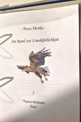 Petra Mettke/Gigabuch Winkelsstein 05/Am Rande der Unerklärlichkeit/Druckskript 2011/Titelblatt