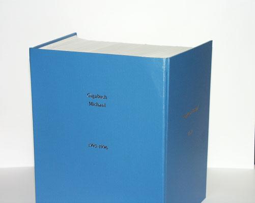 Petra Mettke und Karin Mettke-Schröder/™Gigabuch Michael/Schmuckedition/2001/Gigabuchband