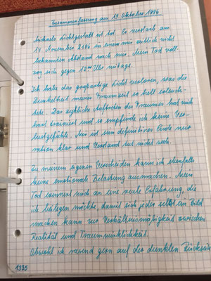 Petra Mettke/Gigabuch Michael 16/Originalordner/1996/ Seite 1335