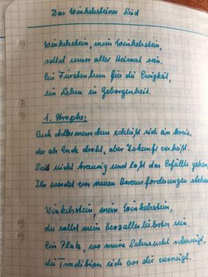 Petra Mettke/Gigabuch Winkelsstein 14/Original 2015/Das neue Winkelsstein Lied