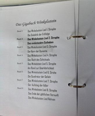 Petra Mettke/Gigabuch Winkelsstein 02/Das evolutionäre Guthaben/Druckskript 2010/Gigabuch Vorschau
