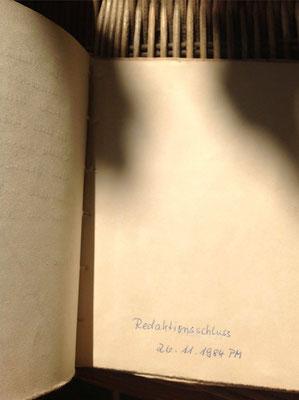 Petra Mettke/Der Käse/Lustspiel von 1984 im Originalbuch/Redaktionsschluss