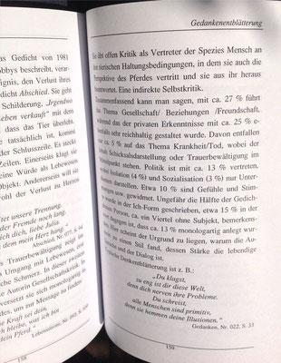 Karin Mettke-Schröder, Petra Mettke/Denkentblätterung/Gedichtband/Druckskript von 2003/Seite 159
