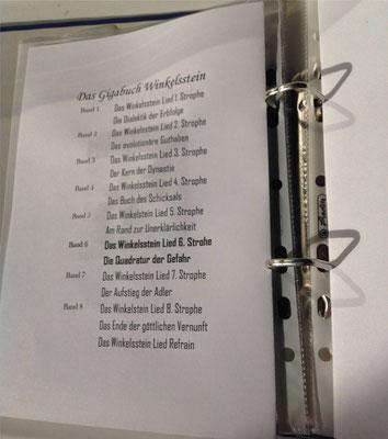 Petra Mettke/Gigabuch Winkelsstein 06/Die Quadratur der Gefahr/Druckskript 2012/Gigabuch Vorschau