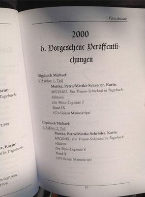 Petra Mettke, Karin Mettke-Schröder/Bibliographie first decade/2003/Seite 15
