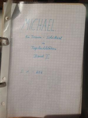 Petra Mettke/Gigabuch Michael 01/Originalordner/1993/Deckblatt