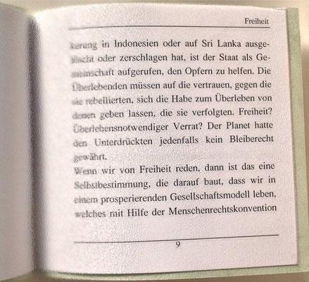 Petra Mettke, Karin Mettke-Schröder/Essay Freiheit/Thesen zum Gigabuch Michael/Nanobook Nr. 10/2005/Seite 9