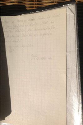 Petra Mettke/Ulk/Urfassung von 1987/ Schlussseite