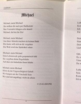 Petra Mettke/Balladen/Liedtexte/Druckskript/2005/Seite 8
