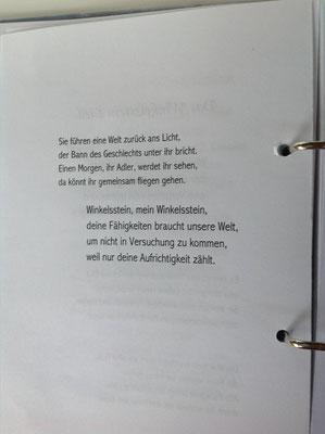 Petra Mettke/Gigabuch Winkelsstein 02/Das evolutionäre Guthaben/Druckskript 2010/Winkelsstein Verse