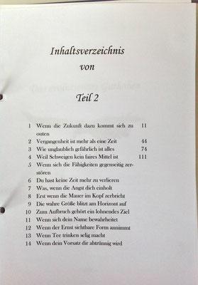 Petra Mettke/Gigabuch Winkelsstein 02/Das evolutionäre Guthaben/Druckskript 2010/Inhaltsverzeichnis