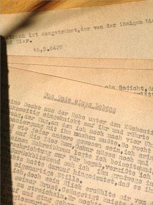 Petra Mettke/ Einschläferung Oskars am 16.05.1984