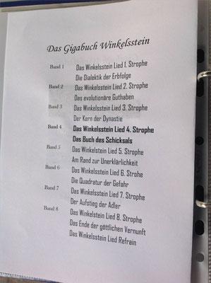 Petra Mettke/Gigabuch Winkelsstein 04/Das Buch des Schicksals/Druckskript 2011/Gigabuch Vorschau