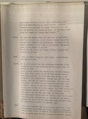 Petra Mettke/Kurgespräch/Hörspiel/Schreibmaschinenskript von 1987/Seite 3