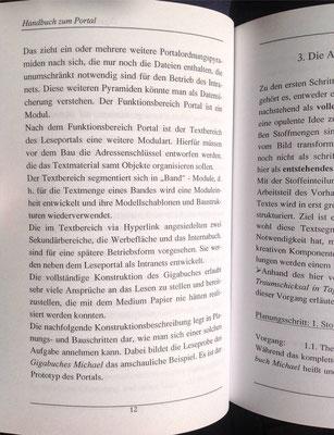 Karin Mettke-Schröder, Petra Mettke/Bau des Gigabuch- Portals/Handbuch 2/2003/Seite 12