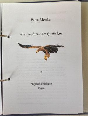 Petra Mettke/Gigabuch Winkelsstein 02/Das evolutionäre Guthaben/Druckskript 2010/Titelblatt