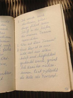 Petra Mettke/Der Käse/Lustspiel von 1984 im Originalbuch/Seite 13