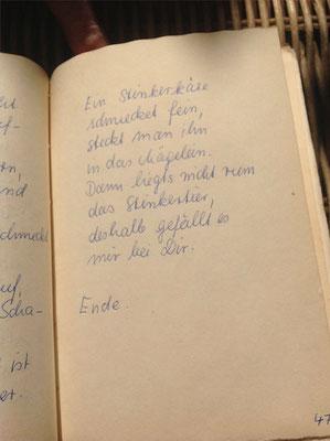 Petra Mettke/Der Käse/Lustspiel von 1984 im Originalbuch/Seite 47